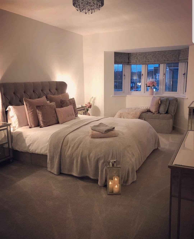 Deco Chambre Parentale Cocooning la imagen puede contener: habitación e interior en 2019
