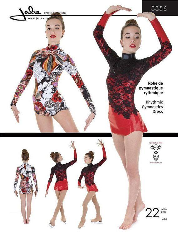 Jalie Rhythmic Gymnastics Ice Figure by AliceInStitchesArts ...