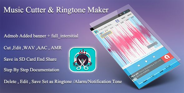 Music - Ringtone Cutter & Maker Eclipse Project + Admob