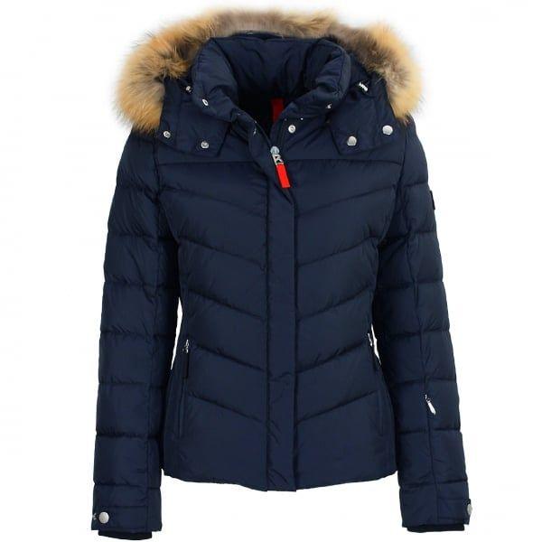 bc3b6294d4 Bogner Sally D Ski Jacket Premium Trim Edition in Navy http   www.