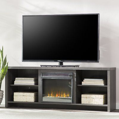 Mercury Row Pelton Tv Stand Tvs Up To 65 With Fireplace