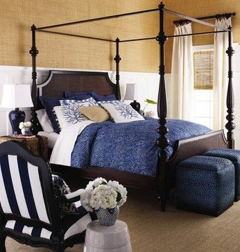 Dark Brown Bed Design Ideas, Pictures, Remodel, and Decor - page 5