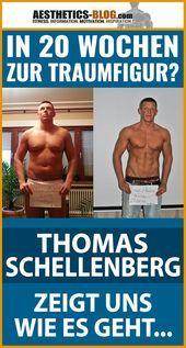 In 20 Wochen zur Traumfigur? Thomas Schellenberg zeigt, wie es geht    - FITNESS INTERVIEWS -   #Fit...