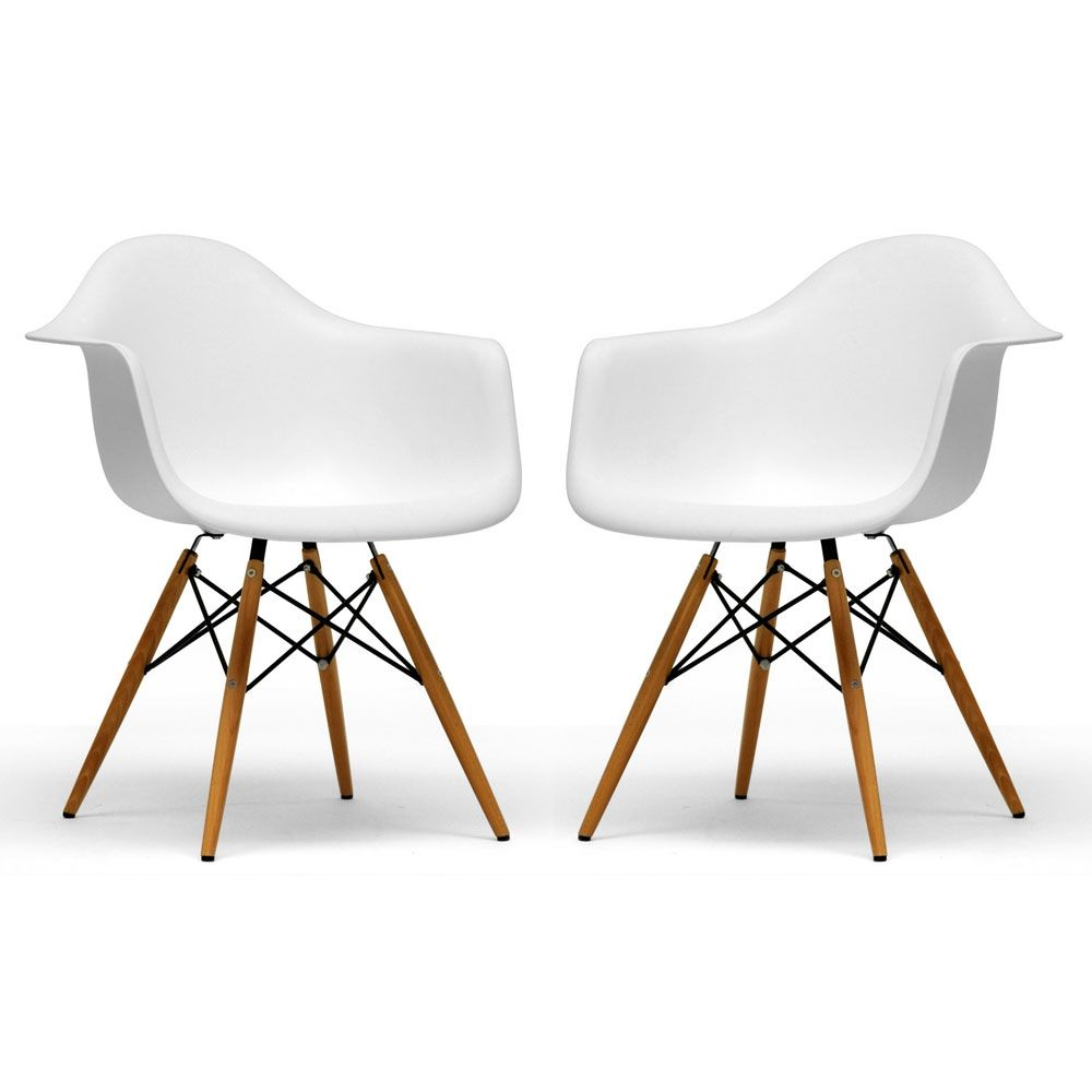 Eames inspired molded plastic chair materials for Mobiliario eames