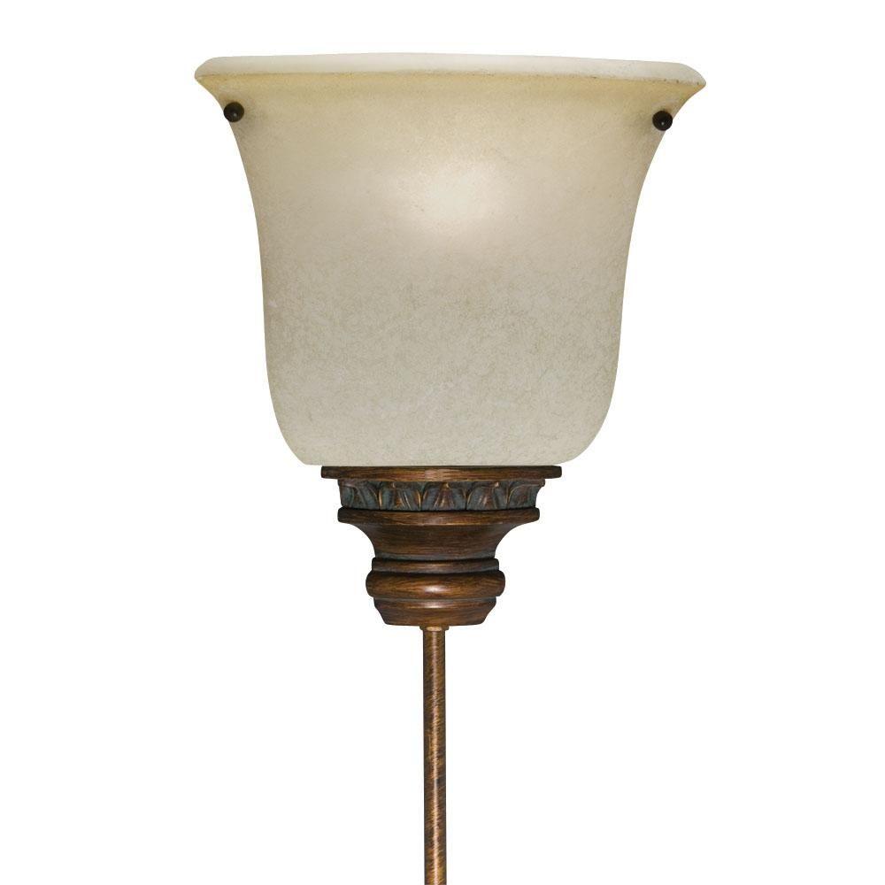 Corner Pin-up Plug-in Golden Bronze Lamp, Gold, Aztec ...
