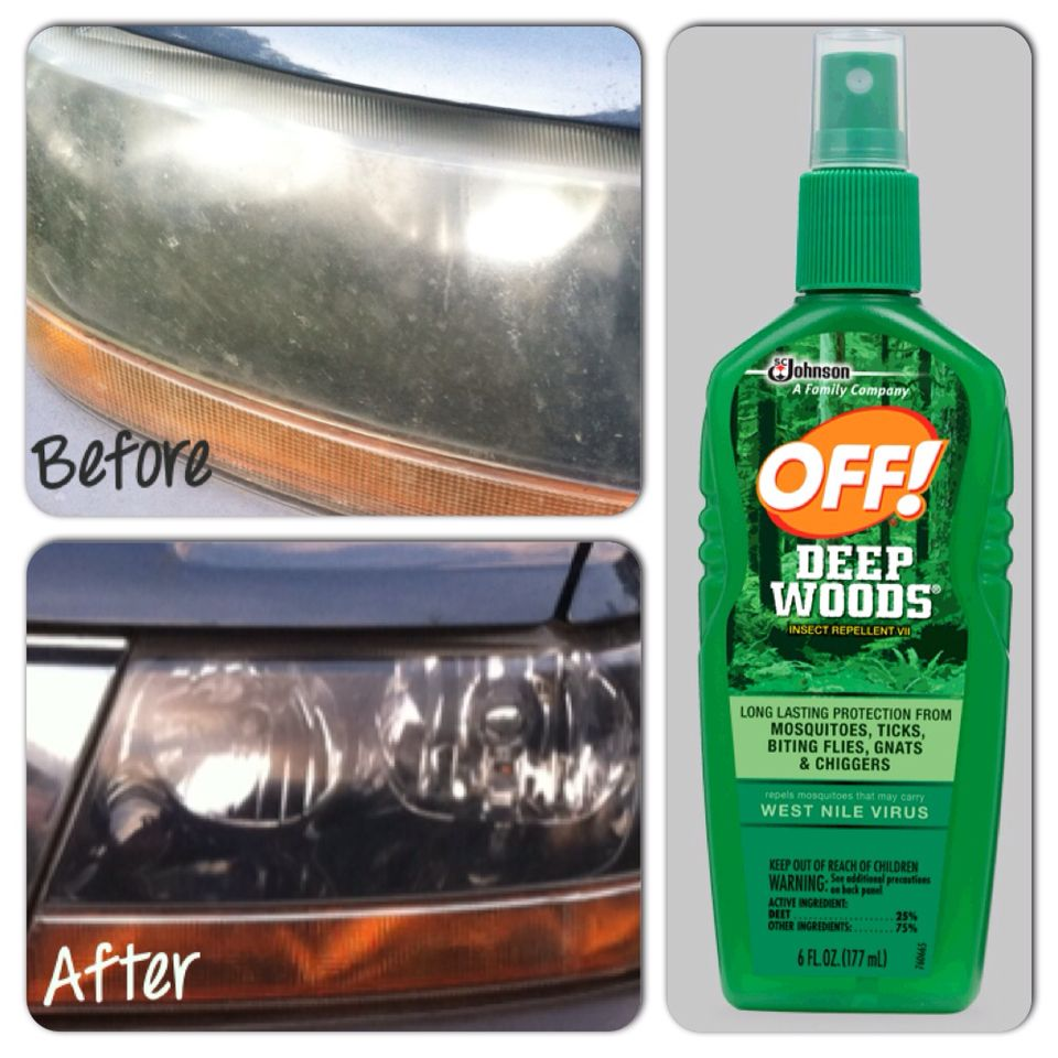 Quick Cheap Way To Clean Foggy Headlights All You Have To Do Is