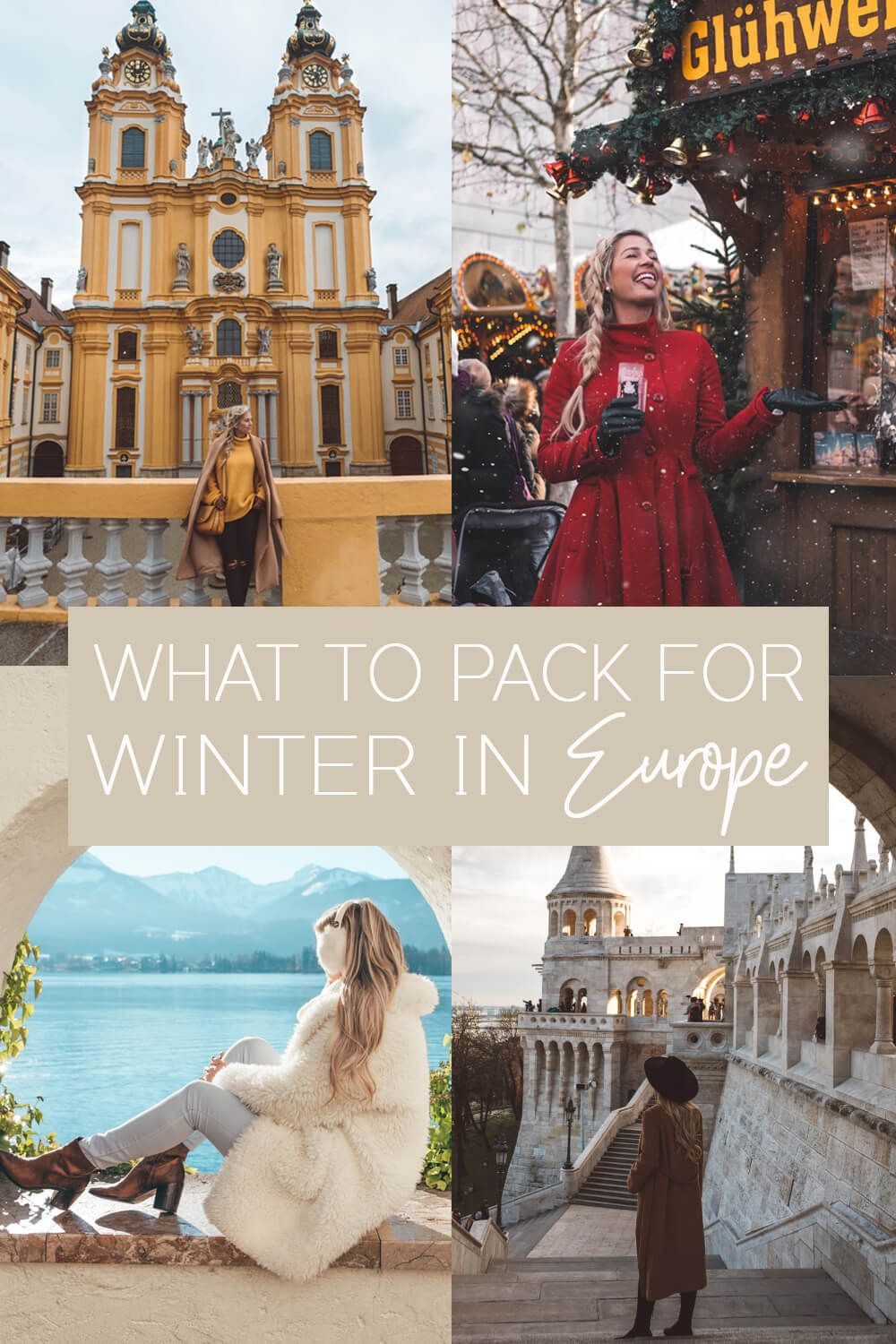 bf9e4b74c1b Outfits to Pack for Winter in Europe - the Blonde Abroad