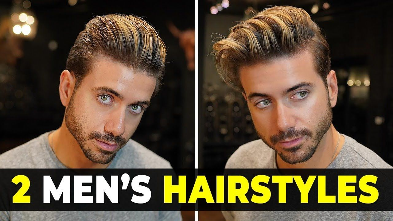 2 Easy Men S Hairstyles Messy Classic Quiff Alex Costa Youtube Hair Tips For Men Easy Mens Hairstyles Mens Quiff