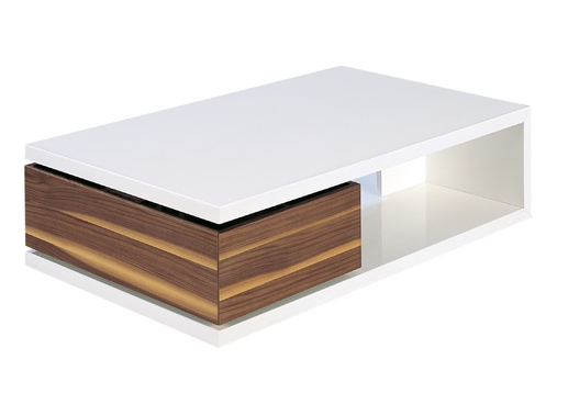 Aspen Top Modern Coffee Table Coffee Table Coffee Table White