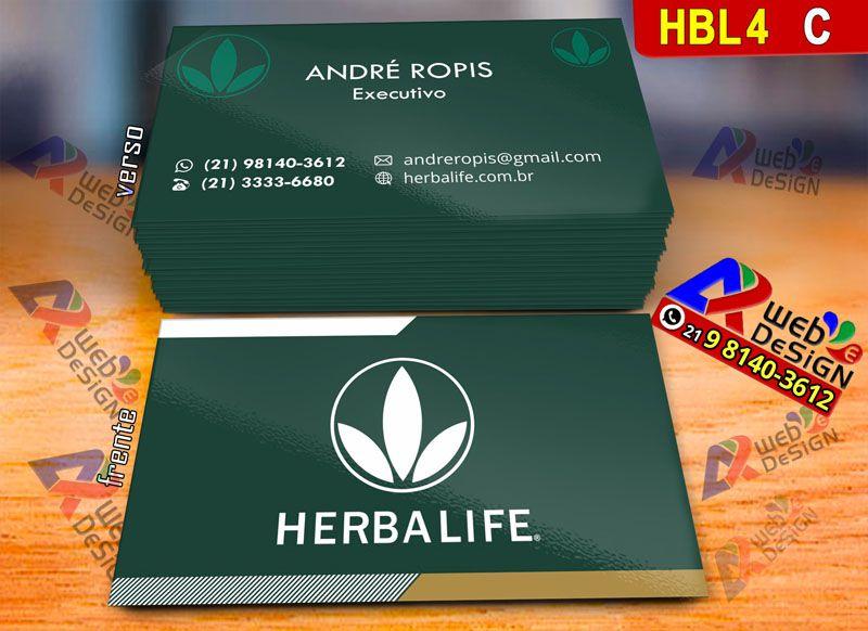 Cartoes De Visita Consultor Herbalife Download Design Com Estilo