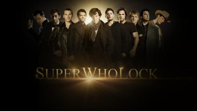 SuperWhoLock fan art