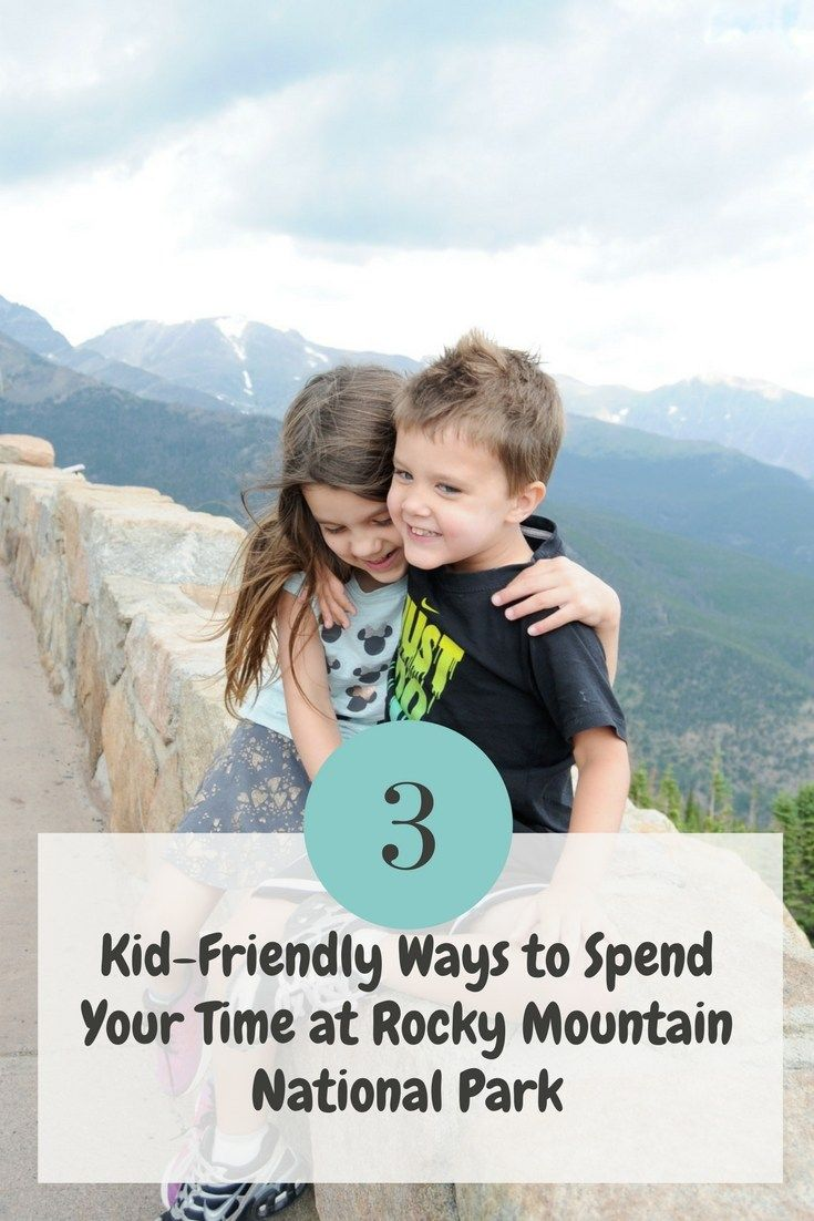 Things to do with kids at Rocky National Park