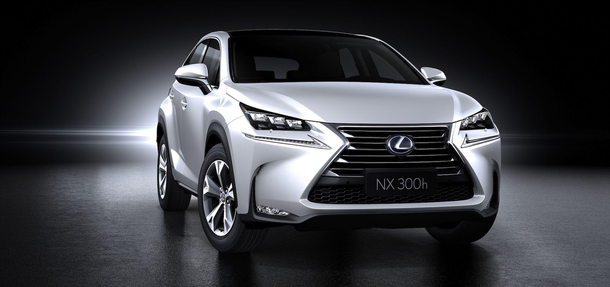 Lexus nx 200h hybrid crossover