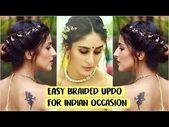 5 MIN EASY Bun Frisur für Hochzeit | Party | Sangeet | Kareena Kapoor-Quick I …, #beauti …