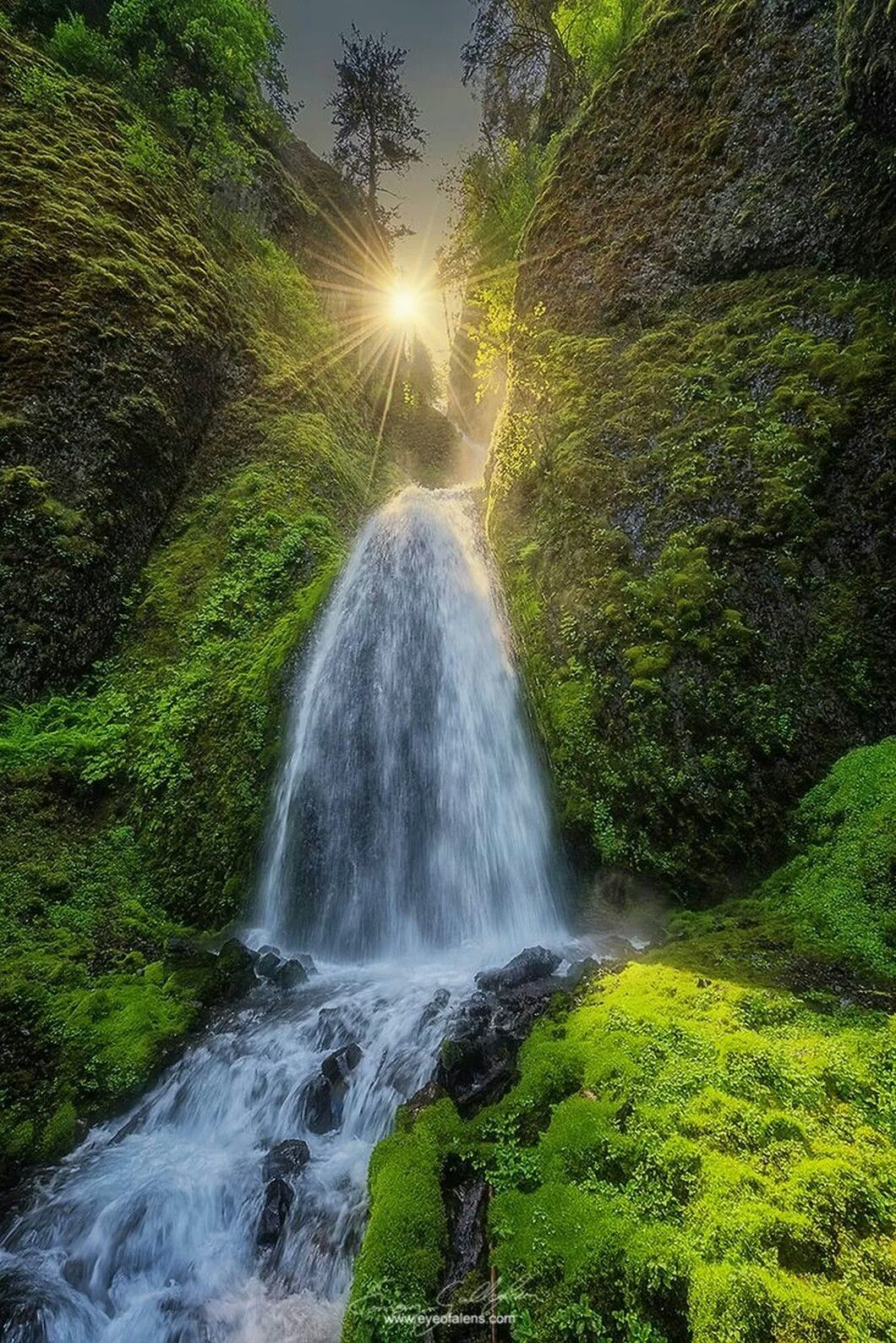 Waterfall Are Magical Beautiful Nature Pictures Beautiful Landscapes Landscape Photography