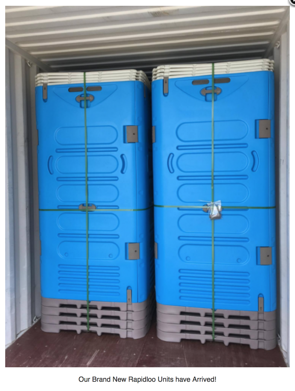 Rapidloo Locker Storage Portable Toilet Storage