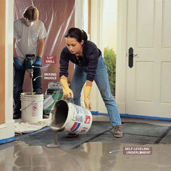 How To Level Uneven Concrete Floors For Maximum Flatness