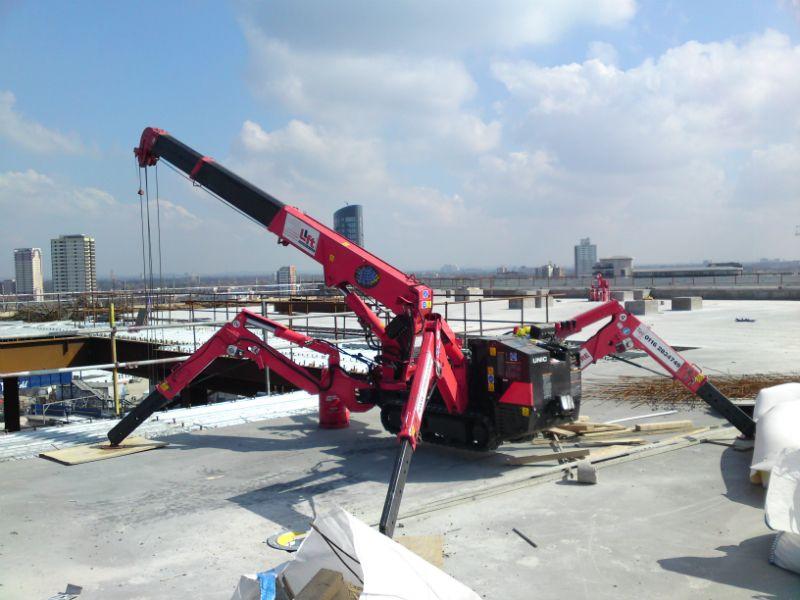 Spider Crane Mech Amp Tech Crane Construction