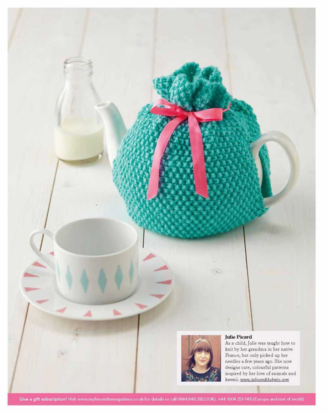 Free Pattern: Knitted Heart | julieandtheknits | Tea So Cosy ...