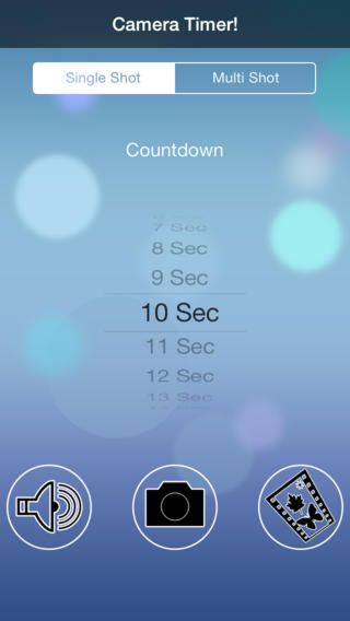 Iphone 5s Camera Timer - about camera