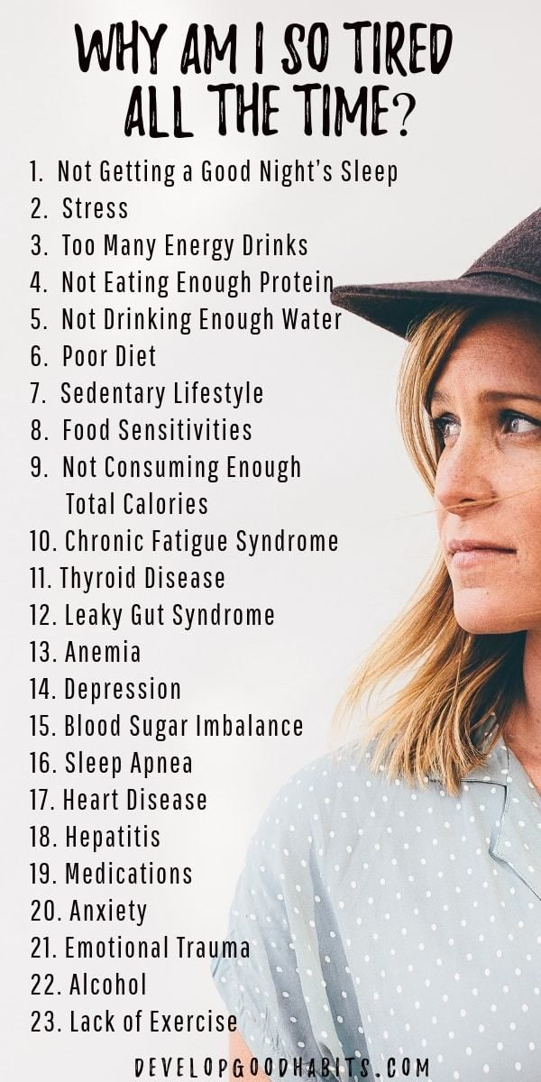 23 Reasons for Low Energy and Feeling Tired All the Time #healthyliving Why so tired? See details on...