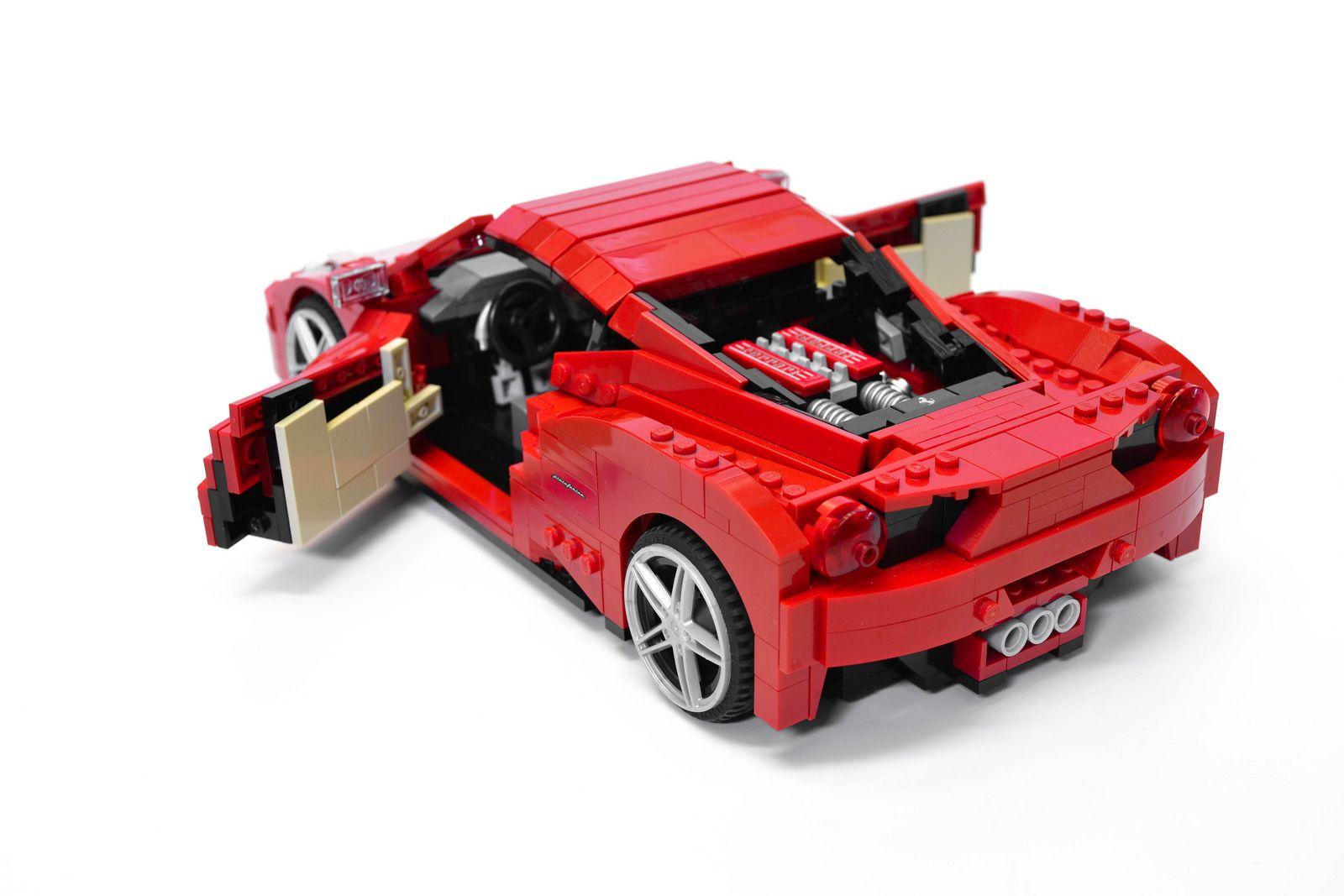 Ferrari 458 Italia (10) Ferrari 458, Best lego sets, Ferrari