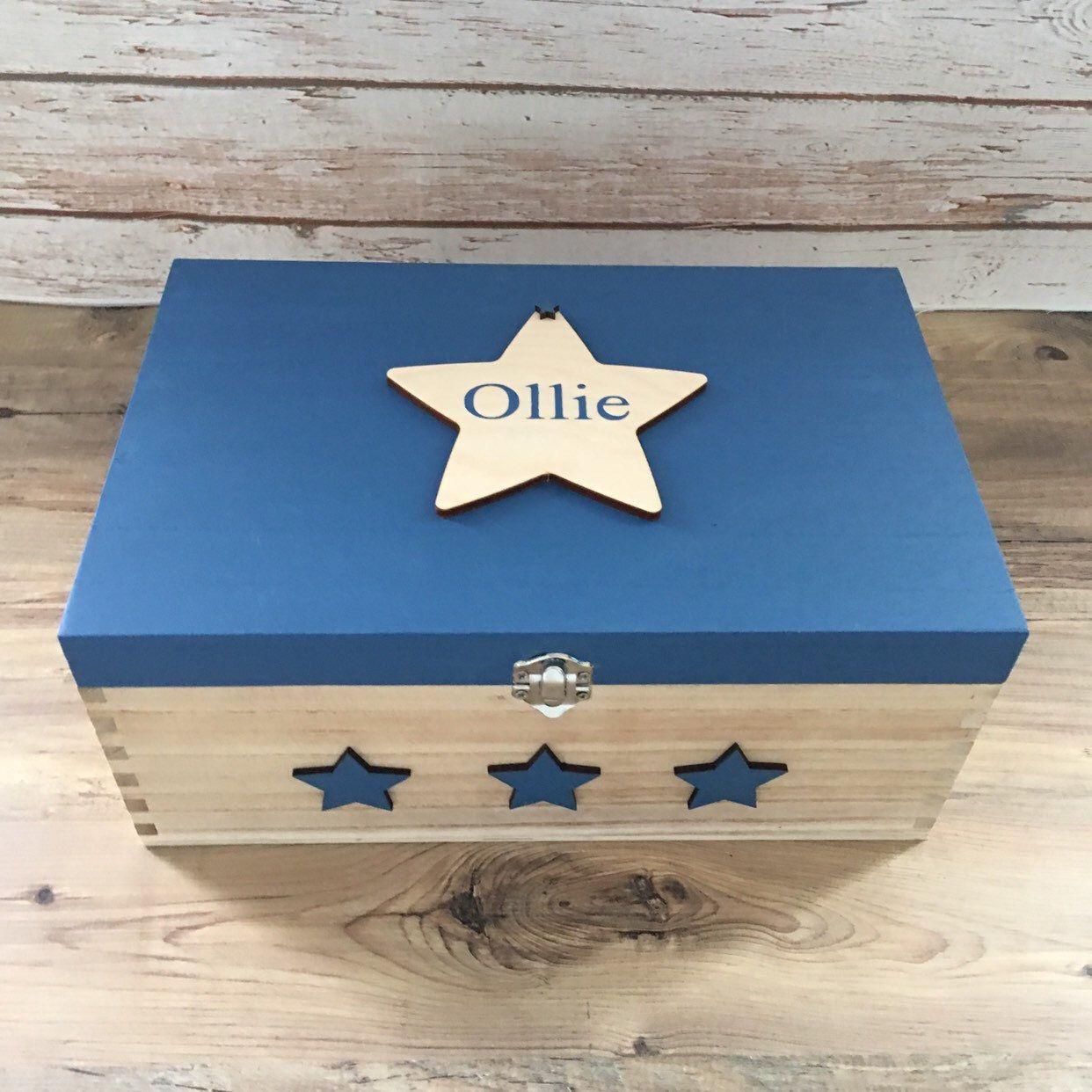 Baby memory box baby keepsake box christening box new