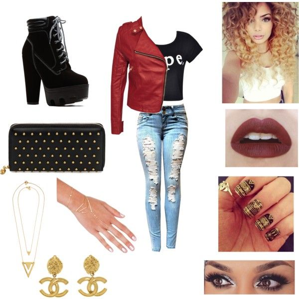 Untitled #30 by max16flawless on Polyvore featuring polyvore fashion style Ally Fashion Alexander McQueen Akira Chanel Girlactik