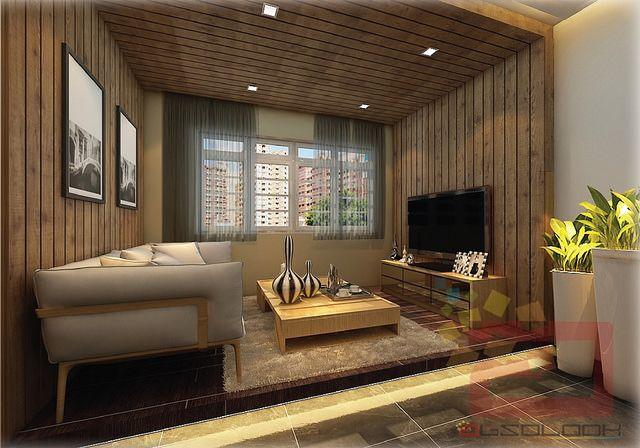 Hdb 4 Room Bto Blk 505a Yishun Acacia Breeze The Wooden Platform