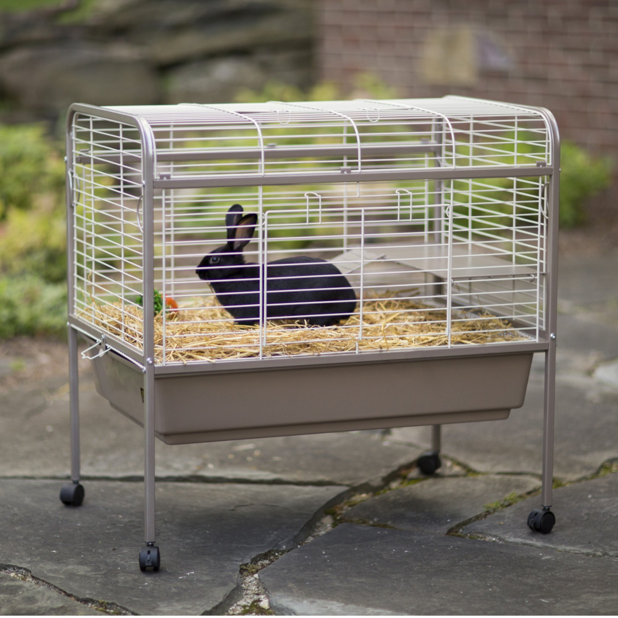 Prevue Pet Products Cocoa & Cream Small Animal Cage with