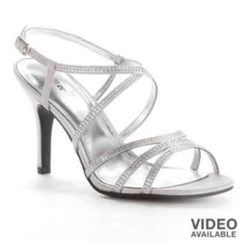 kohls womens dress shoes silver, Up to
