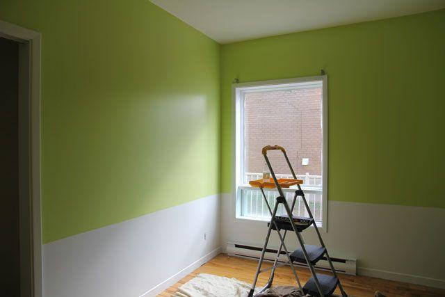 chambre vert et blanc bebe - Recherche Google Naissance