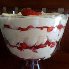 Strawberry Punch Bowl Cake Recipe