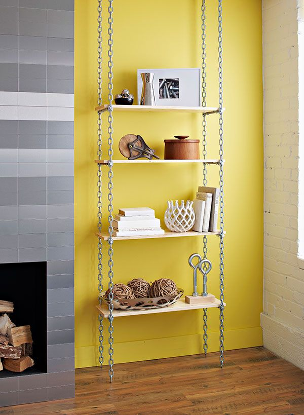 Industrial Shelves - Lowe's Creative Ideas