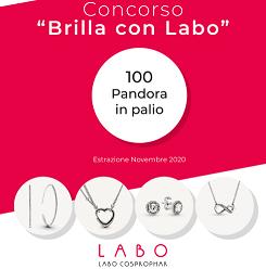 Buono sconto 20% sui prodotti Labo Suisse e Concorso vinci un gioiello Pandora
