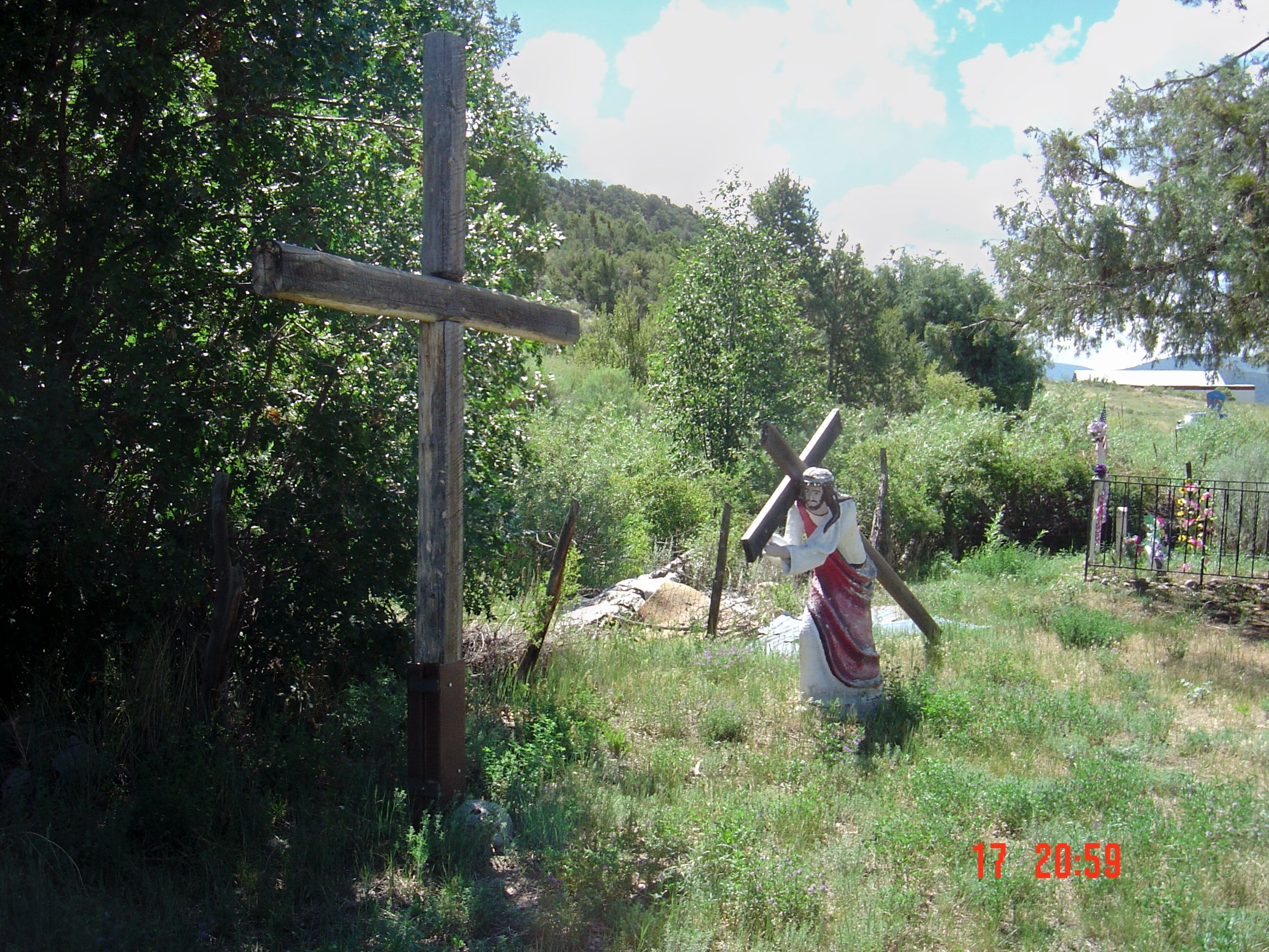 New mexico taos county penasco - Religious Artifacts Outside Of Penasco New Mexico Penitente Morada My Father Remembers This Morada