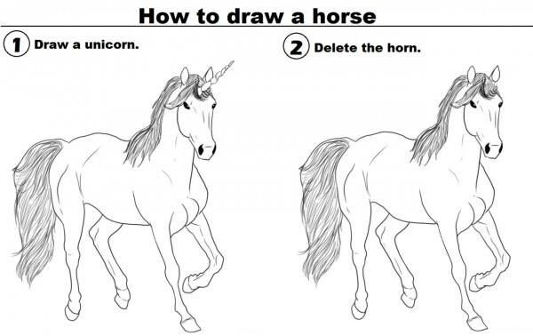 How to draw a horse oh internet pinterest musik how to draw a horse ccuart Gallery