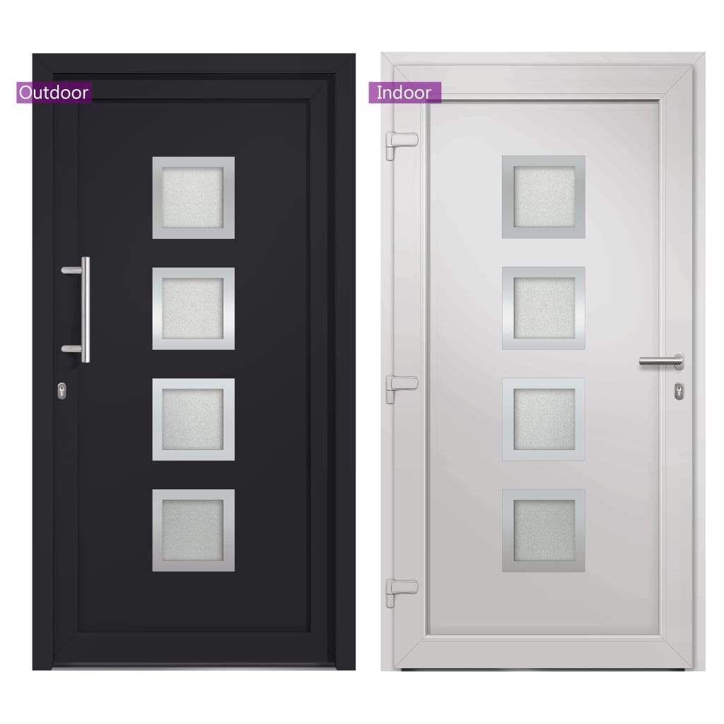 ZNTS Front Door Anthracite 108×200 cm 279191