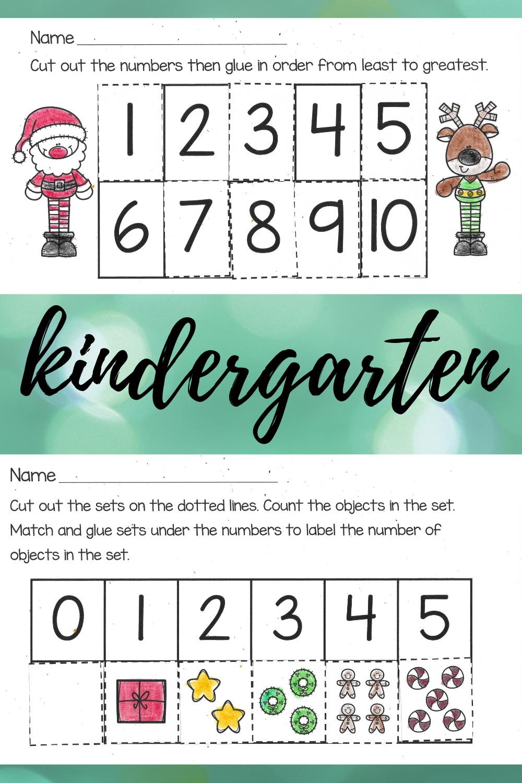 Christmas Math Worksheets For Kindergarten Kindergarten Math Worksheets Christmas Math Worksheets Kindergarten Names [ 1500 x 1000 Pixel ]