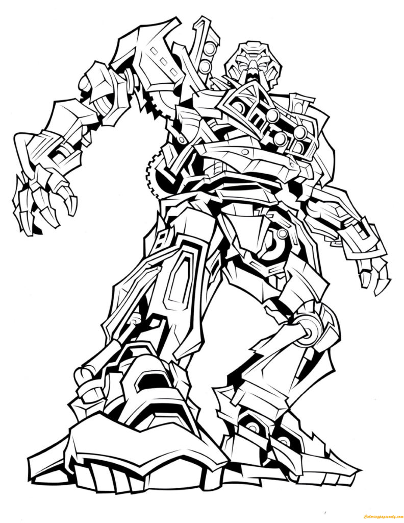 Coloring Rocks Transformers Coloring Pages Coloring Pages Coloring Pages For Kids