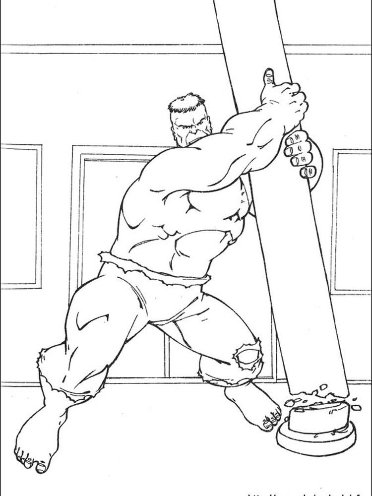 Abomination Hulk Coloring Pages - Kids Colouring Pages - Coloring Home | 1000x750