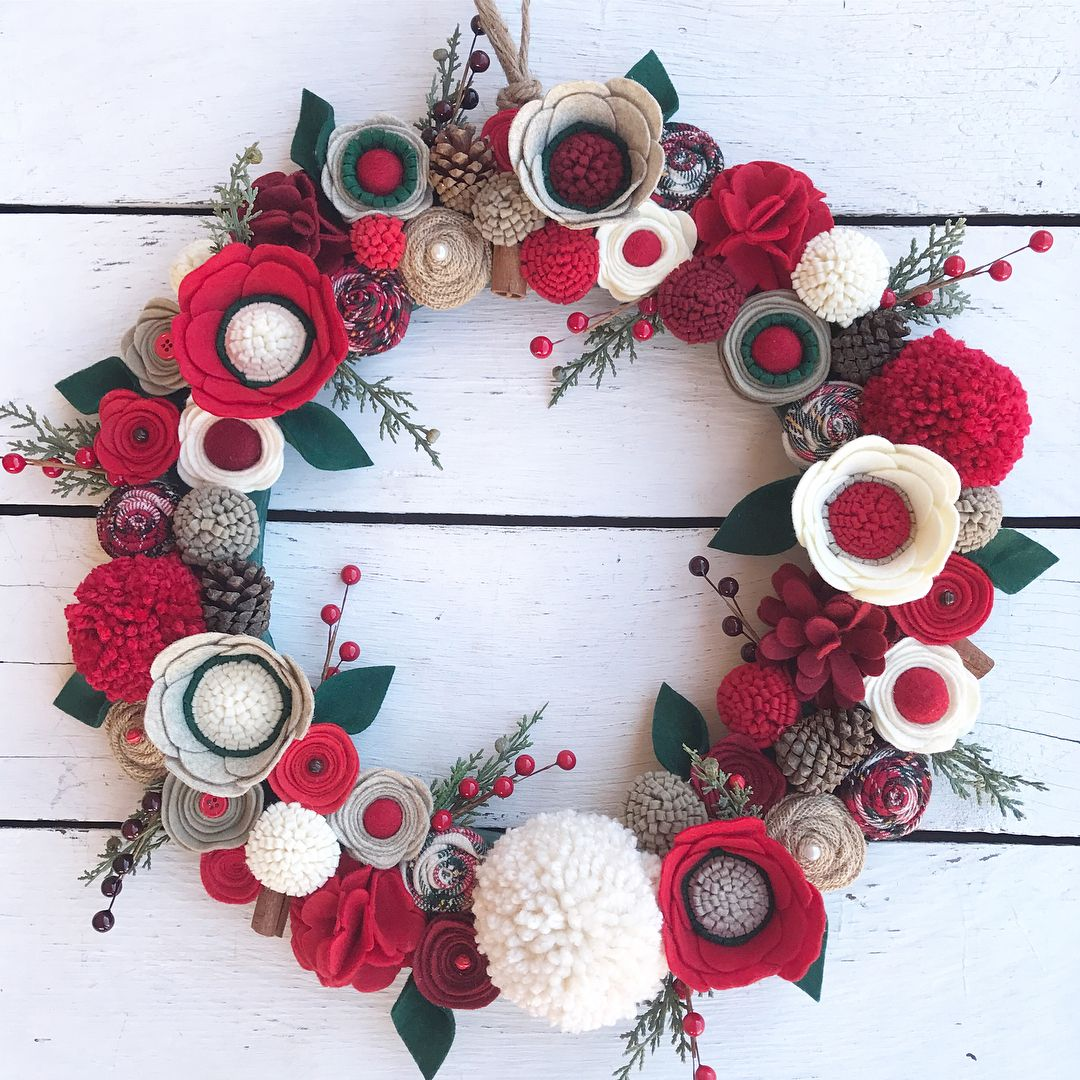 WREATH AUCTION DAY 4!! I just can't get enough of these ultra full flowered  beauties!! Really-you'll be seeing more of them in the New Year!