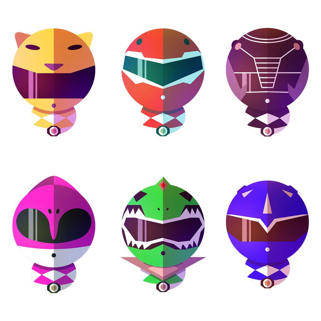 Morphin\' Power Rangers Fan Art That Totally Kicks Ass | Power ...