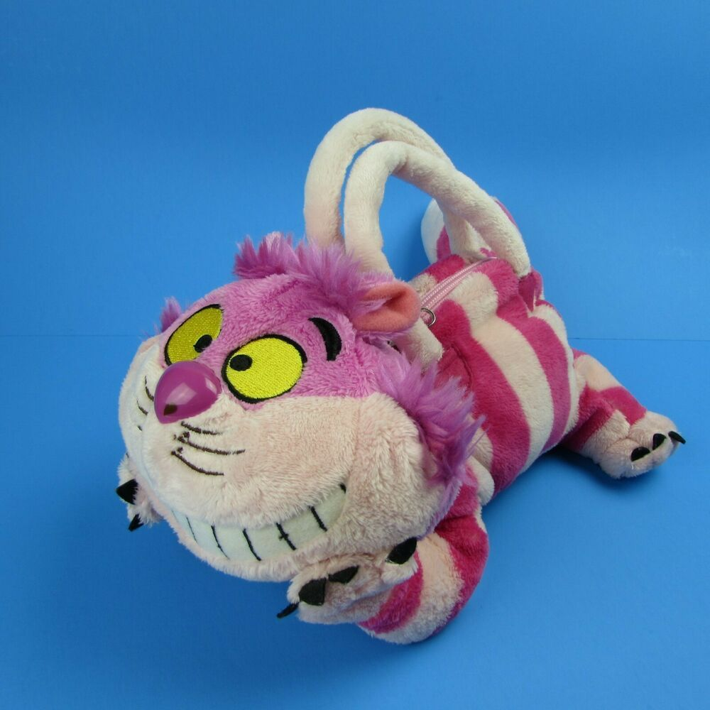Walt Disney World Cheshire Cat Plush Purse Alice In Wonderland Cuddle N Carry Ba Disney Cheshire Cat Plush Cat Plush Alice In Wonderland [ 1000 x 1000 Pixel ]