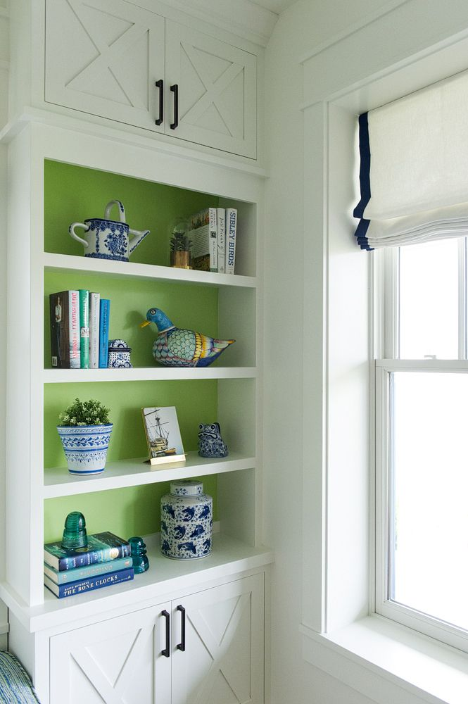 lime green paint from olympic lines the shelves in the study of our rh pinterest com Green Wall Shelf Green Wall Shelf