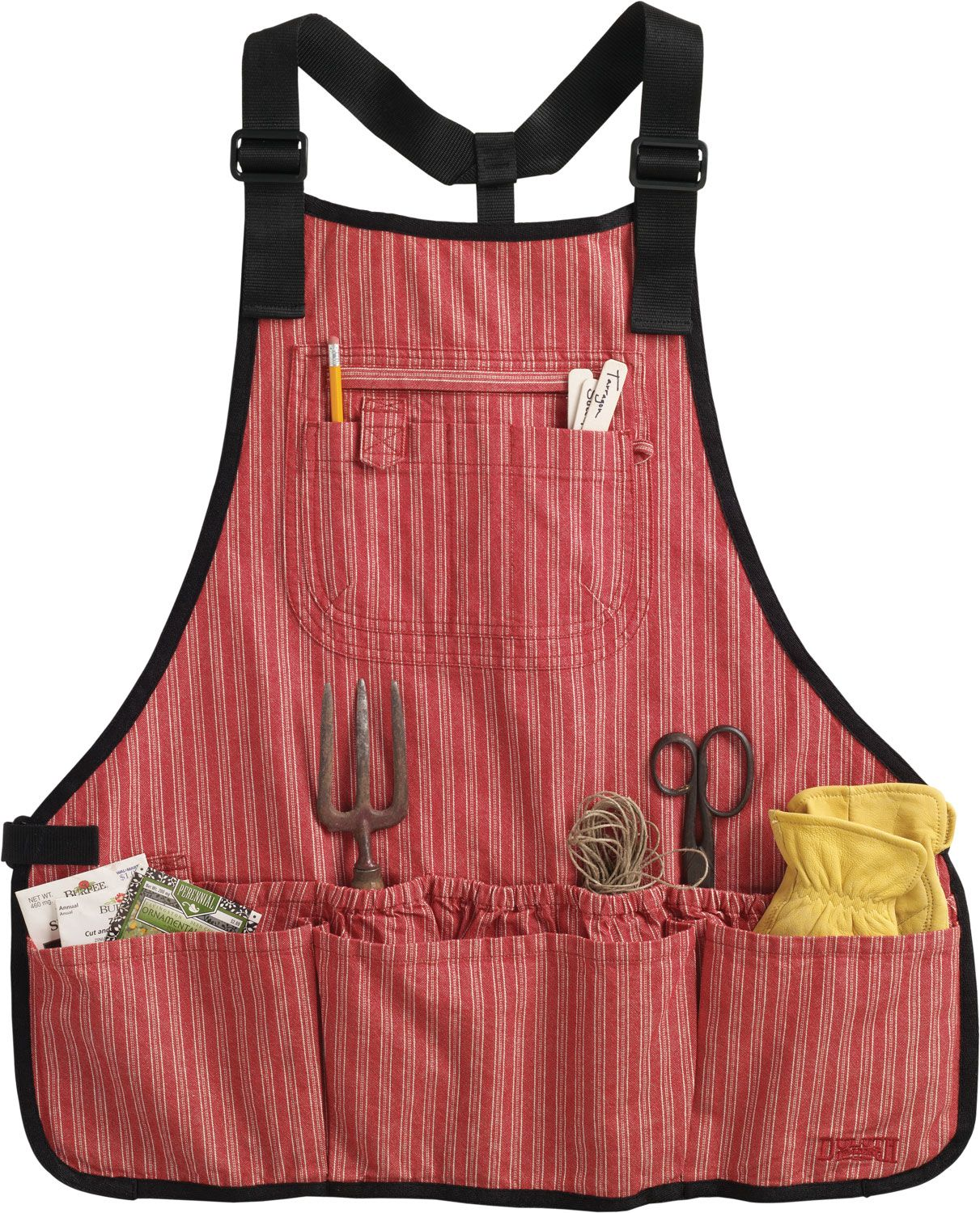 Womenu0027s Utility Apron / [Duluth Trading Co]. Mesh In The Bottom Of The  Pockets For Dried Garden Soil To Escape.