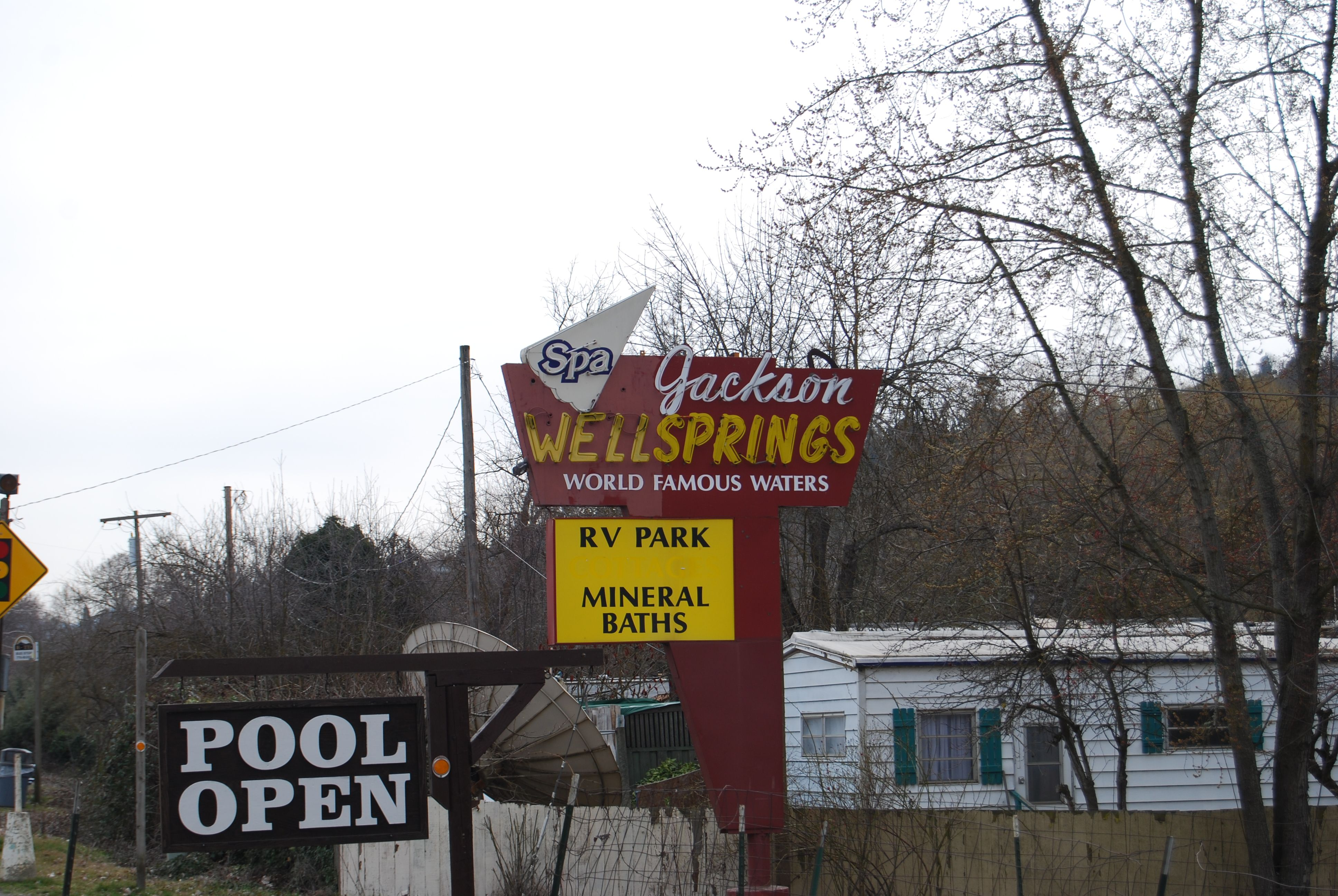 Jackson Well Springs An Historic Hot New Age Event Center And Campground At 2253 Highway 99 North In Ashland Oregon