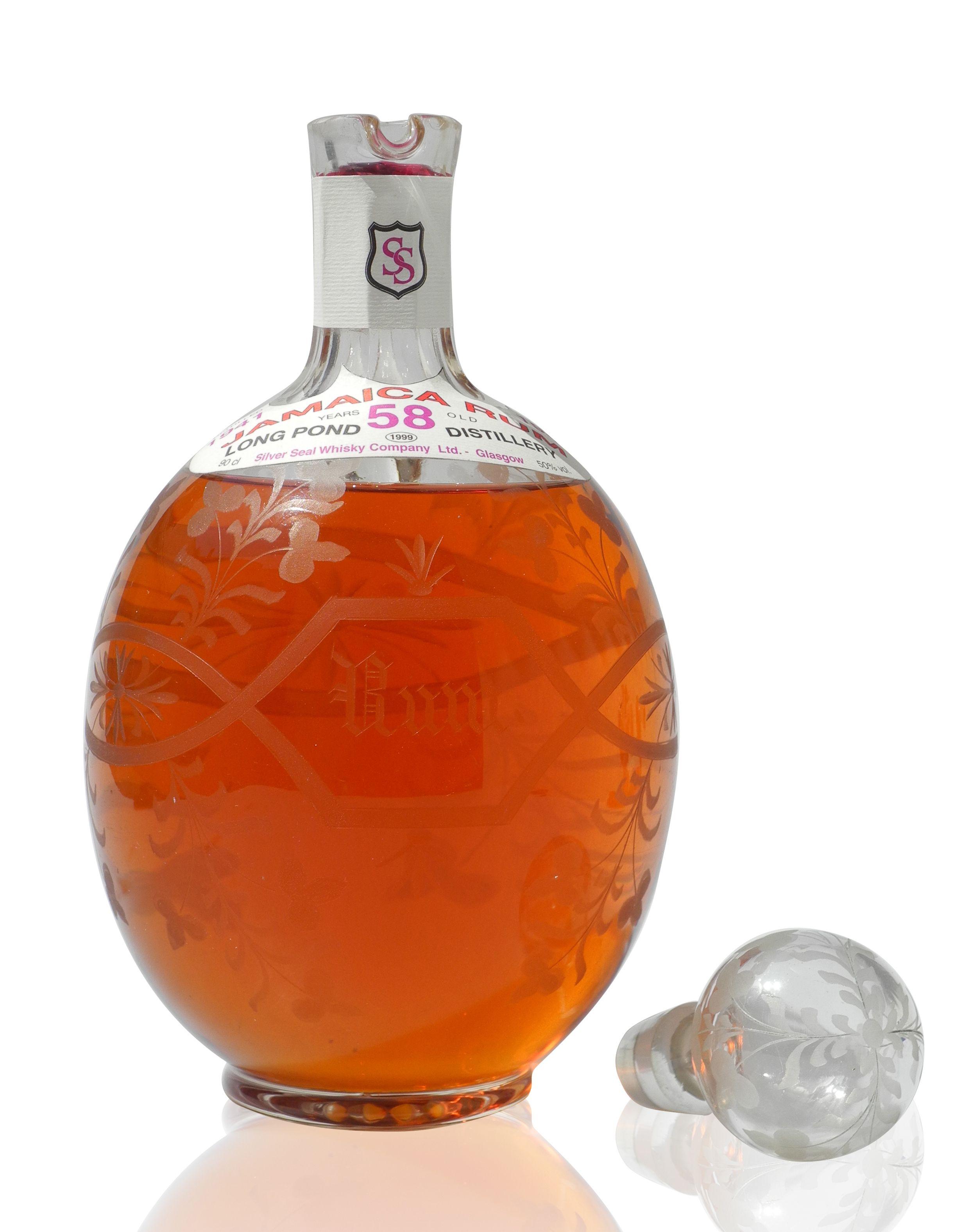 Jamaica Rum 1941 58 Year Old Hk 40 000 Alkohol In Vino Veritas Trinken