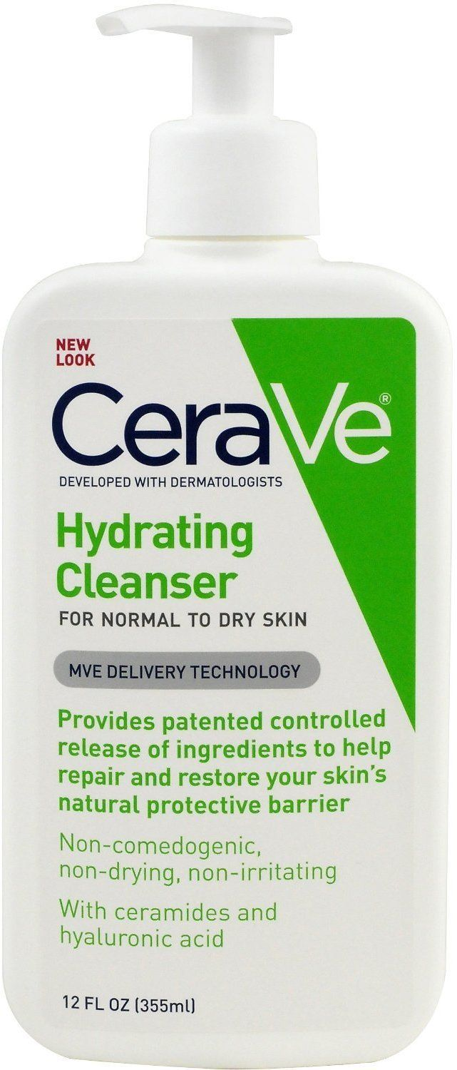 CeraVe Hydrating Cleanser, 12 Ounce Hydrating cleanser