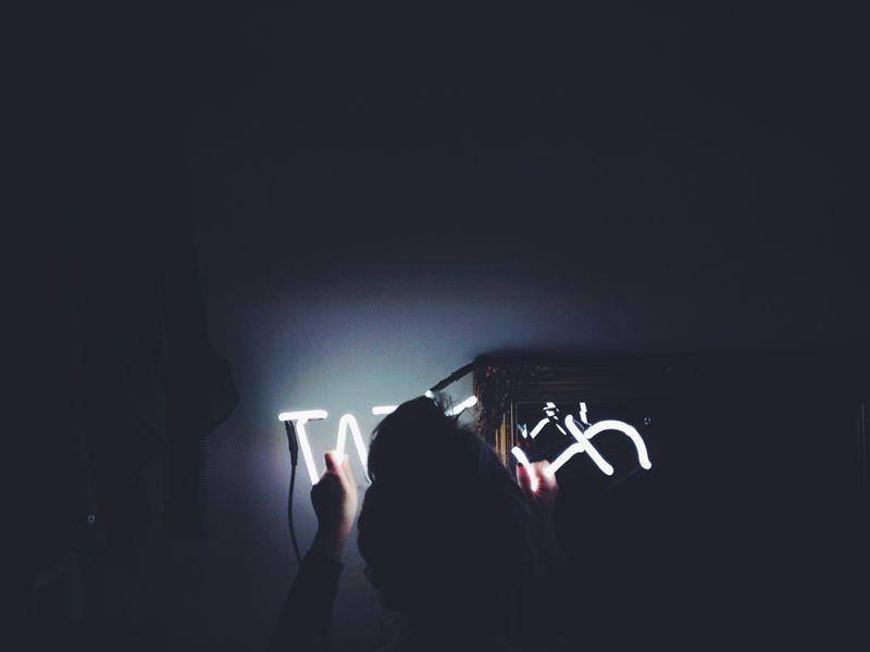 SELETTI NEON LETTERS |  LAMPPU MAKKARIIN LÖYTYI